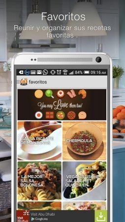 android Recetas Cookbook