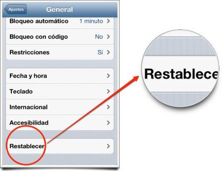 Resetear iPhone de un modo simple