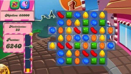 candy crush saga gelatina
