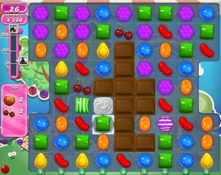 candy crush saga ingredientes