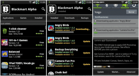 descargas Black Market Android