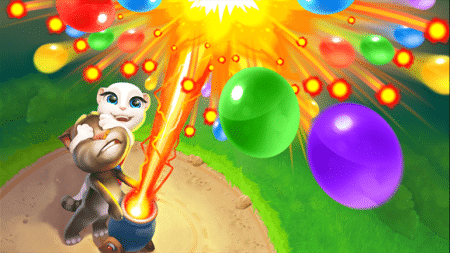 bajar Talking Tom Bubble Shooter