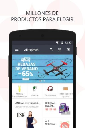 aliExpress-shopping-app-android-1