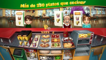 pedidos Cooking Fever