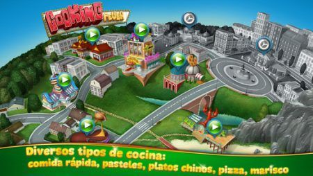 restaurantes Cooking Fever