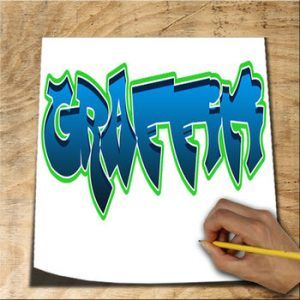 como-dibujar-graffiti-iphone-logo-300x300