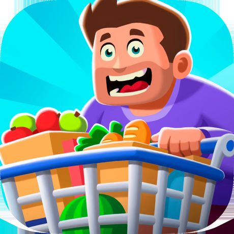 idle-supermarket-tycoon-iphone-logo