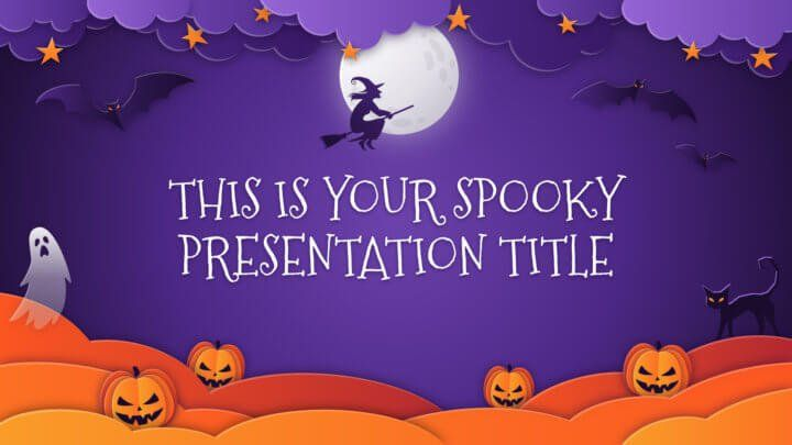 Free-Halloween-Powerpoint-template-Google-Slides-theme-paper-cut-illustrations-720x405-1